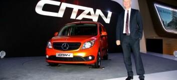 Mercedes Citan er priset