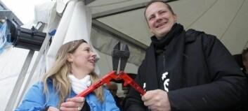 Minister klippet ladekabel i Oslo vest