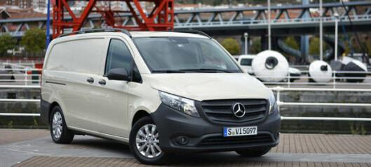 Nye Mercedes Vito er prøvekjørt