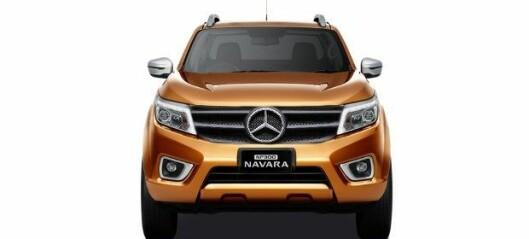 Mercedes-pickup halvt Nissan