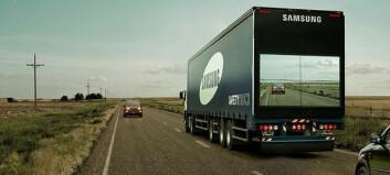 Gjennomsiktig truck