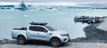 Nå skal Renault innta pickup-markedet