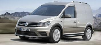 VW Caddy som Alltrack