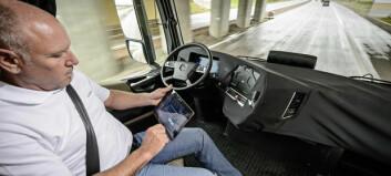 Daimler sender selvkjørende lastebil ut på offentlig vei