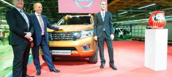 Nye Nissan Navara klar for Norge
