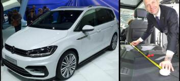 VW Touran kommer ikke som varebil
