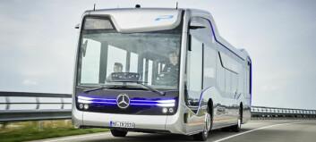 Autonom buss i Amsterdam