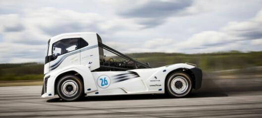 Denne lastebilen har slått to verdensrekorder