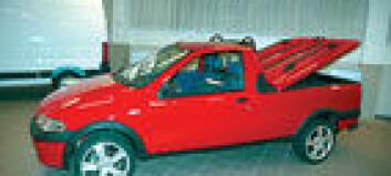 Test av Fiat Strada: Arvtageren fra Brasil