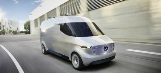 Elektrisk varebilvisjon fra Mercedes-Benz