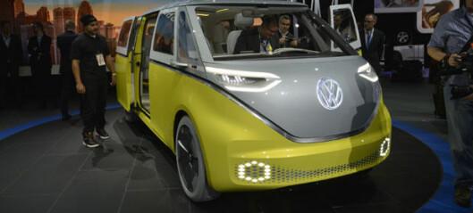 Volkswagens nye mikrobuss