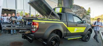Ford Ranger som dronebil