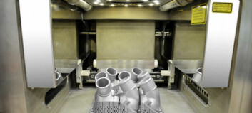Mercedes 3D-printer reservedeler i metall