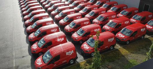 Kjøpte over 120 varebiler i ett jafs