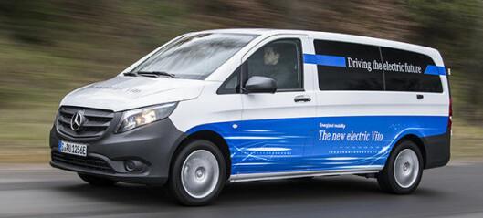 Kan eVito løfte salget av varebiler i Norge?