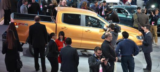 Ford lanserer ny Ranger