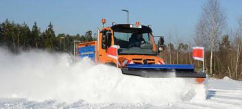 Snørydding – uten Norge!