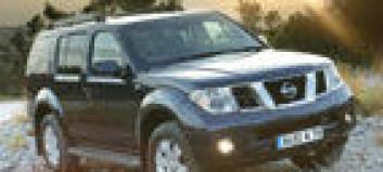 Nissan Pathfinder klar som varebil