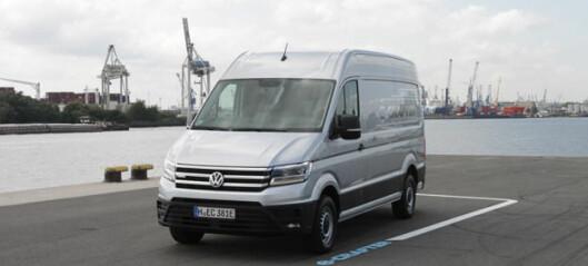 Volkswagen e-Crafter klar for å innta byene