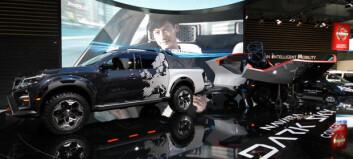 Nissan viser skikkelig spacet Navara