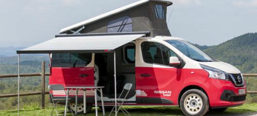 Nissan viser camper-serie