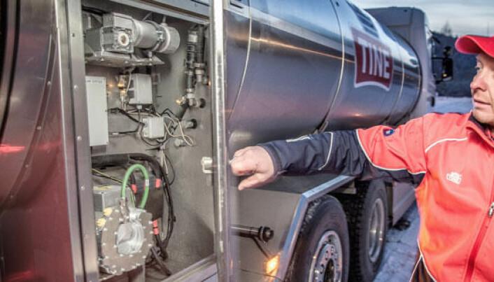 Slik skal Tine spare 1,25 mill. liter diesel per år