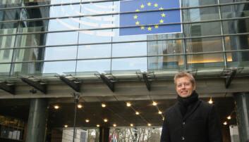 Diskuterte samarbeid om tungbilkontroll med svenskene