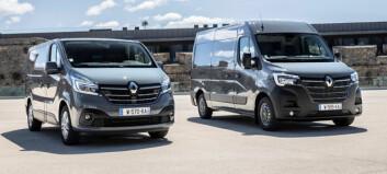 Ny Renault Master og Trafic på veien