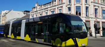 Elbusser forsinket - men metrobussene kommer i tide til Trondheim