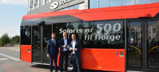 Solaris passerer 500 busser i Norge