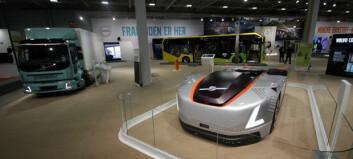 Starter salget av elektriske lastebiler i Norge