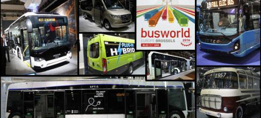 Bussbonanza i Brussel