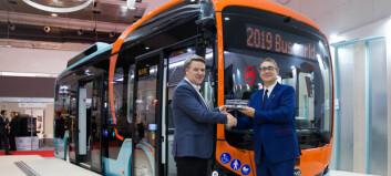 Vy Buss kjøper 55 elbusser fra BYD