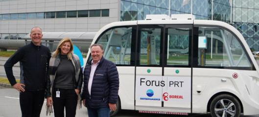 Solvik-Olsen skal jobbe med selvkjørende busser