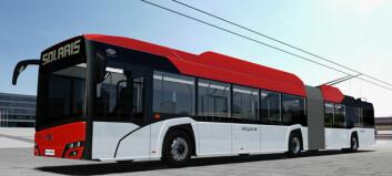 Solaris skal levere ti trolleybusser til Bergen