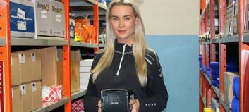 Camilla (26) tar sats i tungbilbransjen