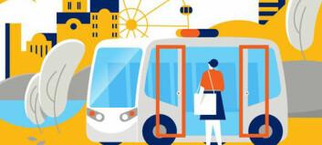 Snart får Gjesdal tre førerløse busser - med millioner i støtte fra EU