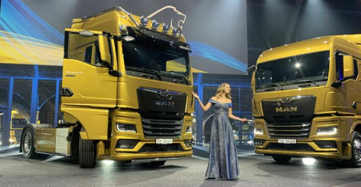 Louise Houghton ledet premierefesten for MANs nye lastebilgenerasjon.