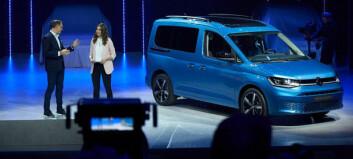 Her er femte generasjon Volkswagen Caddy
