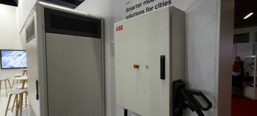 ABB skal lade 55 BYD for Vy Buss