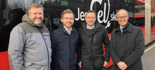 74 mill. i statlig støtte skal gi 100 nye elbusser i Oslo