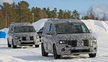Vintertester nye Mercedes Citan