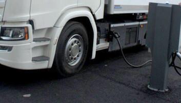 Rapport: Behov for 90.000 ladepunkter for elektriske tunge kjøretøy innen 2030