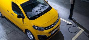 Elektrisk varebil fra Opel