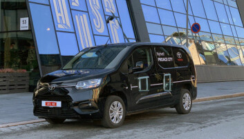 Store ambisjoner for liten varebil