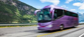 Slik vil regjeringen redde bussbransjen