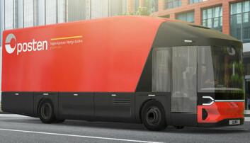 Posten er med i utviklingen av ny elektrisk lastebil