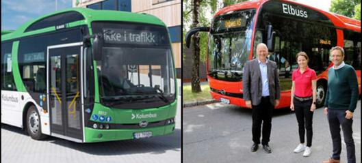 BYD med store leveranser til Vy Buss og Unibuss