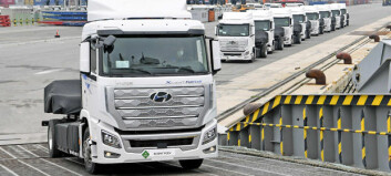 Hyundai leverer hydrogen-lastebiler til Sveits