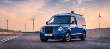 Taxi-basert varebil med smarte løsninger